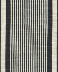 Atlantic Linen Strip Vintage Black by  Ralph Lauren