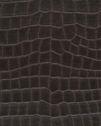Yacare Crocodile Mahogany by  Ralph Lauren Wallpaper