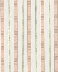 Mia Stripe Rose by  Ralph Lauren Wallpaper