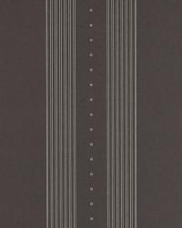 Tuxedo Club Stripe Black by  Ralph Lauren Wallpaper