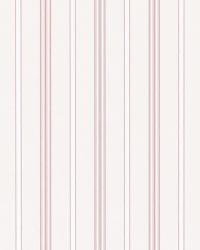 Milland Stripe Pink by  Ralph Lauren Wallpaper