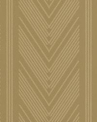 Onyx Club Stripe Gold by  Ralph Lauren Wallpaper