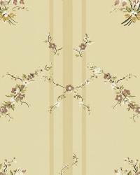 Tuilleries Stripe Tea by  Ralph Lauren Wallpaper