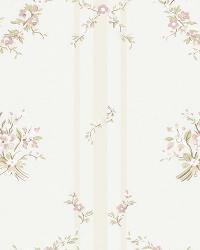 Tuilleries Stripe Pale Pink by  Ralph Lauren Wallpaper