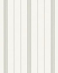 Trevor Stripe Grey by  Ralph Lauren Wallpaper