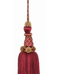 Marquee Key Tassel Scarlet by
