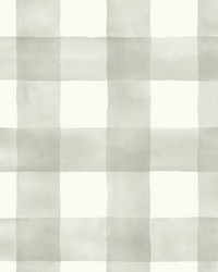 Magnolia Home Watercolor Check Removable Wallpaper by