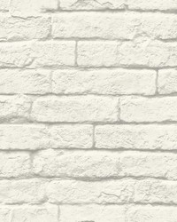 Magnolia Home Brick-and-Mortar Removable Wallpaper by