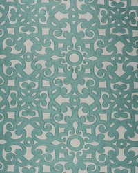 Scroll Works Teal by