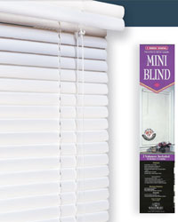 1 inch vinyl mini blind 33x84