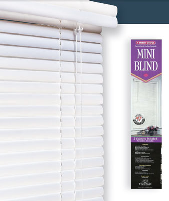 Blinds Vinyl Blinds 1 Inch Vinyl Mini Blind Lotus & Windoware