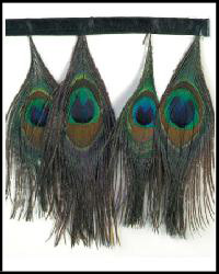 Peacock Feather Trim